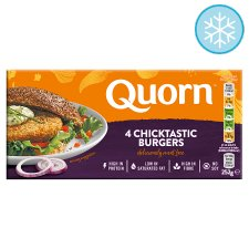 Quorn Chicken Style Burgers 4 Pack 252G