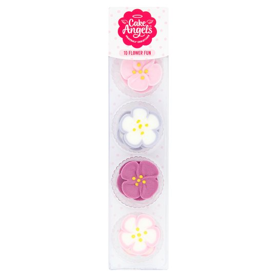 Cake Angels Flower Fun Icing 10g Tesco Groceries
