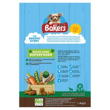 image 2 of Bakers Dog Food Beef And Vegetables 1.2Kg
