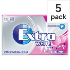Wrigley Extra Bubblemint Gum 5 Pack