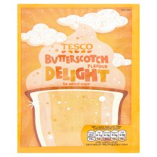 Tesco Delight Butterscotch No Added Sugar 49G