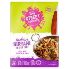 Street Delights Indian Biryani Meal Kit 452G