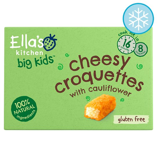 Ella's Kitchen Big Kids Cheesy Croquettes 200G