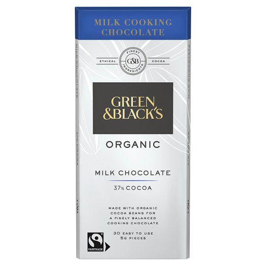 Green And Black Milk Cooks Bar 150G