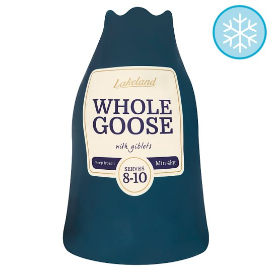 Lakeland Frozen Whole Goose With Giblets 4Kg