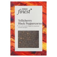 Tesco Finest Tellicherry Black Peppercorn 100G