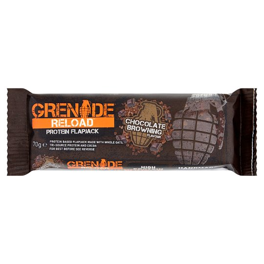Grenade Reload Flapjack Chocolate