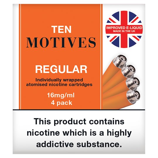 10 Motives Refills Regular 16Mg