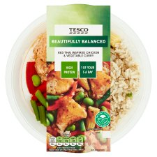 Tesco Red Thai Chicken Curry With Rice 380G