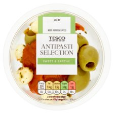 Tesco Antipasti Selection Pot 70G