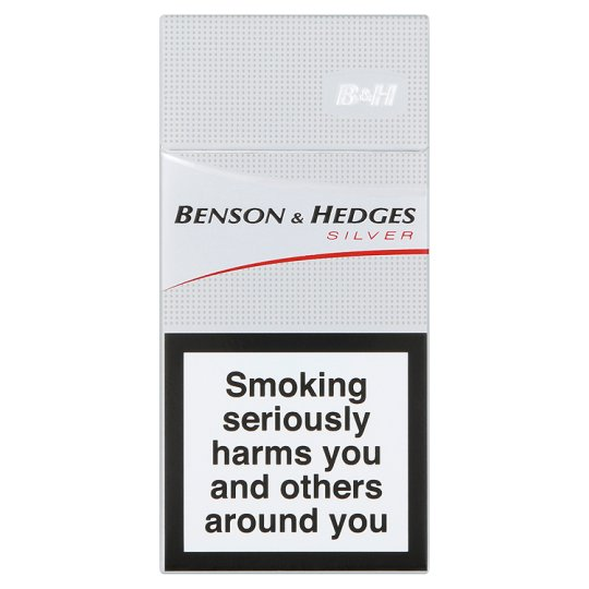 Benson And Hedges Silver 10 Pack