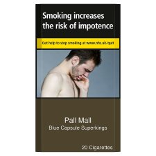 Pall Mall Blue Superkings 20 Pack