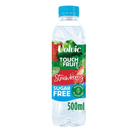 Volvic Touch Of Fruit Strawberry Sugar Free 500Ml