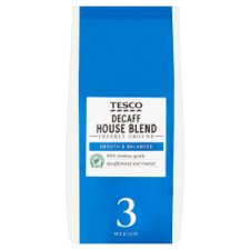 Tesco House Decaffeinated Ground Coffee 227G