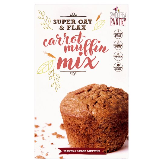 image 1 of Sweetpea Pantry Carrot Muffin Mix Gluten Free 220G