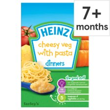 Heinz 7 Month Cheesy Vegetable Pasta 100G