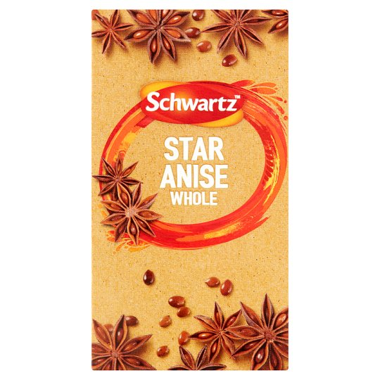 Schwartz Star Anise Whole 15G Refil - Groceries - Tesco Groceries