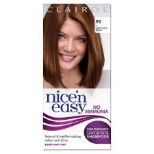 Nice'n Easy No Ammonia Light Warm Brown 92 Hair Dye