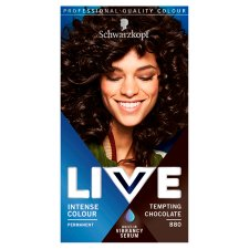 Schwarzkopf Live Intensive Color 880 Tempting Chocolate Hair Dye