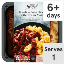 Tesco Finest Pulled Beef And Mash 450G