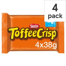 Toffee Crisp Chocolate Multipack 4 X38g