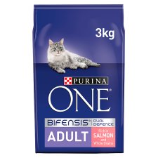 Purina One Cat Adult Salmon And Whole Grain 3Kg