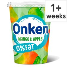 Onken Fat Free Mango & Apple Yogurt 450G
