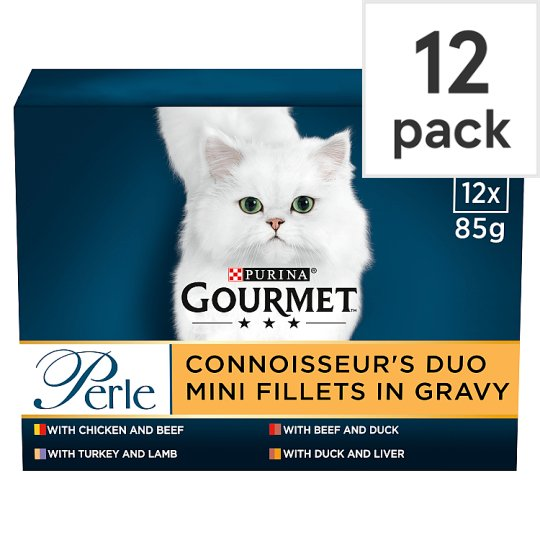 image 1 of Gourmet Perle Beef And Chicken In Gravy 12X85g