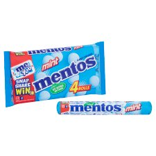 image 2 of Mentos Mint 4 Pack 152G