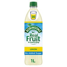 Robinsons Lemon Squash No Added Sugar 1L
