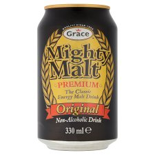 Grace Mighty Malt Drink Can 330Ml