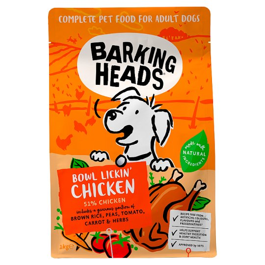 Barking Heads Tender Loving Care Chicken 1Kg
