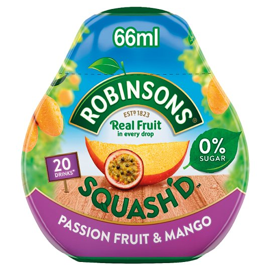 Robinsons Squash'd Mango And Passion Fruit 66Ml