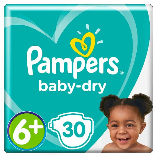 image 1 of Pampers Baby Dry Size 6+ Essential Pack 27 Nappies