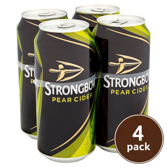 Strongbow Pear Cider 4X440ml