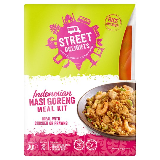 Street Delights Indonesian Nasi Goreng Kit 325G
