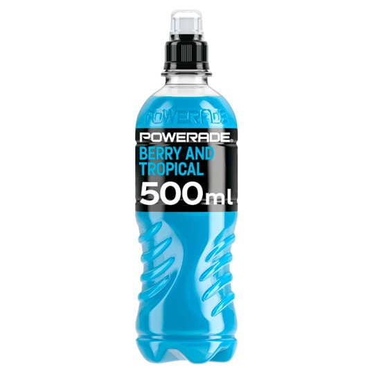 Powerade Berry Tropical Fruit 500Ml - Tesco Groceries 1d70d82fb