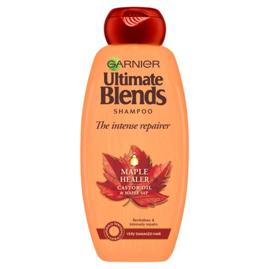 image 1 of Garnier Ultimate Blends Maple Shampoo