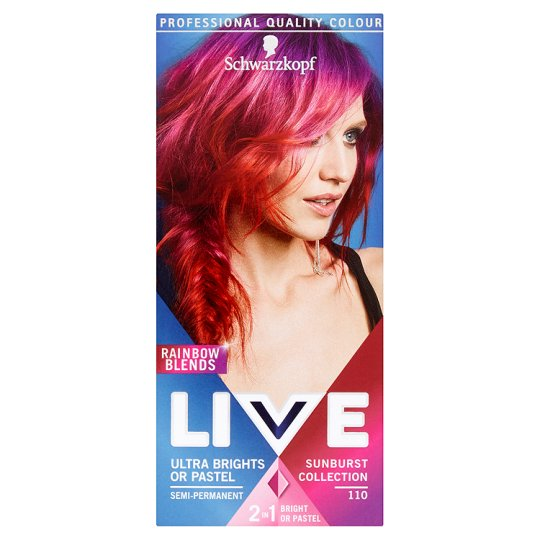 Live Ultra Brights Sunburst Colour 90G