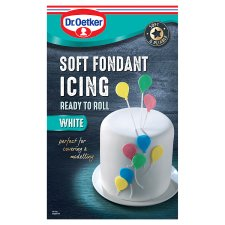 Dr Oetker Ready To Roll White Icing 1Kg