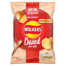 Walkers Baked Ready Salted Crisps 37.5 G