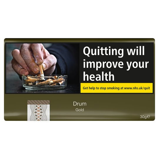 Drum Gold Roll Your Own 30G