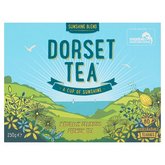 Dorset Tea 80 Luxury Tea Bags 250G