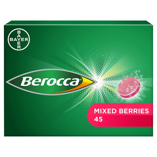 Berocca Mixed Berries 45'S