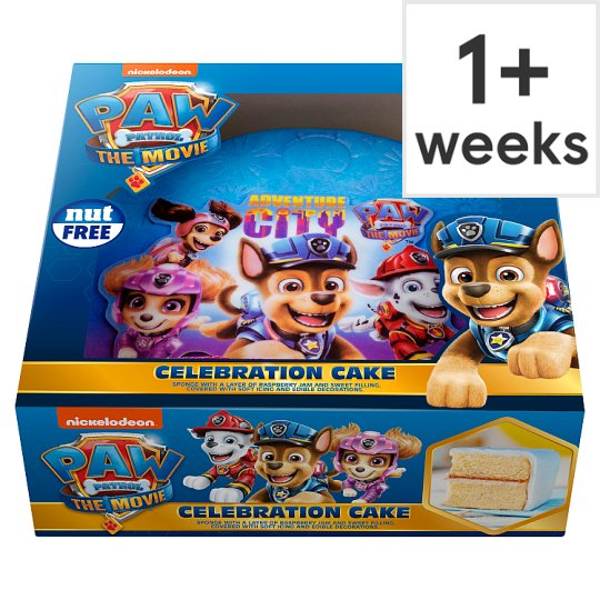 Nickelodeon Paw Patrol Celebration Cake