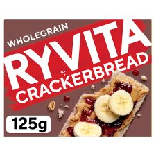 Ryvita Whole Grain Cracker Bread 125G