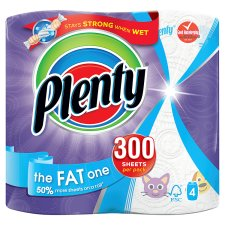 Plenty Kitchen Towel Fat 4 Roll
