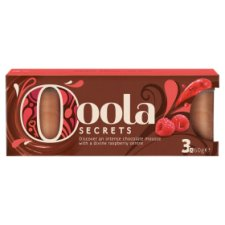 image 1 of Ooola Secrets Chocolate And Raspberry Mousse 180G