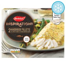 image 1 of Birds Eye Inspirations 2 Haddock Fillets White Wine Sauce 280G