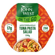 John West Light Lunch Mediterranean Style Tuna Salad 220G